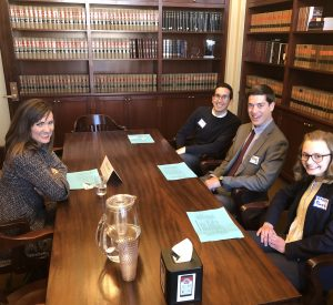 2019 speed mentoring at Capitol